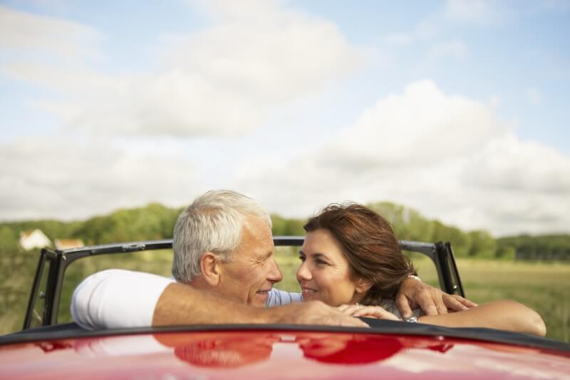 couple in their 40s went on a roadtrip together